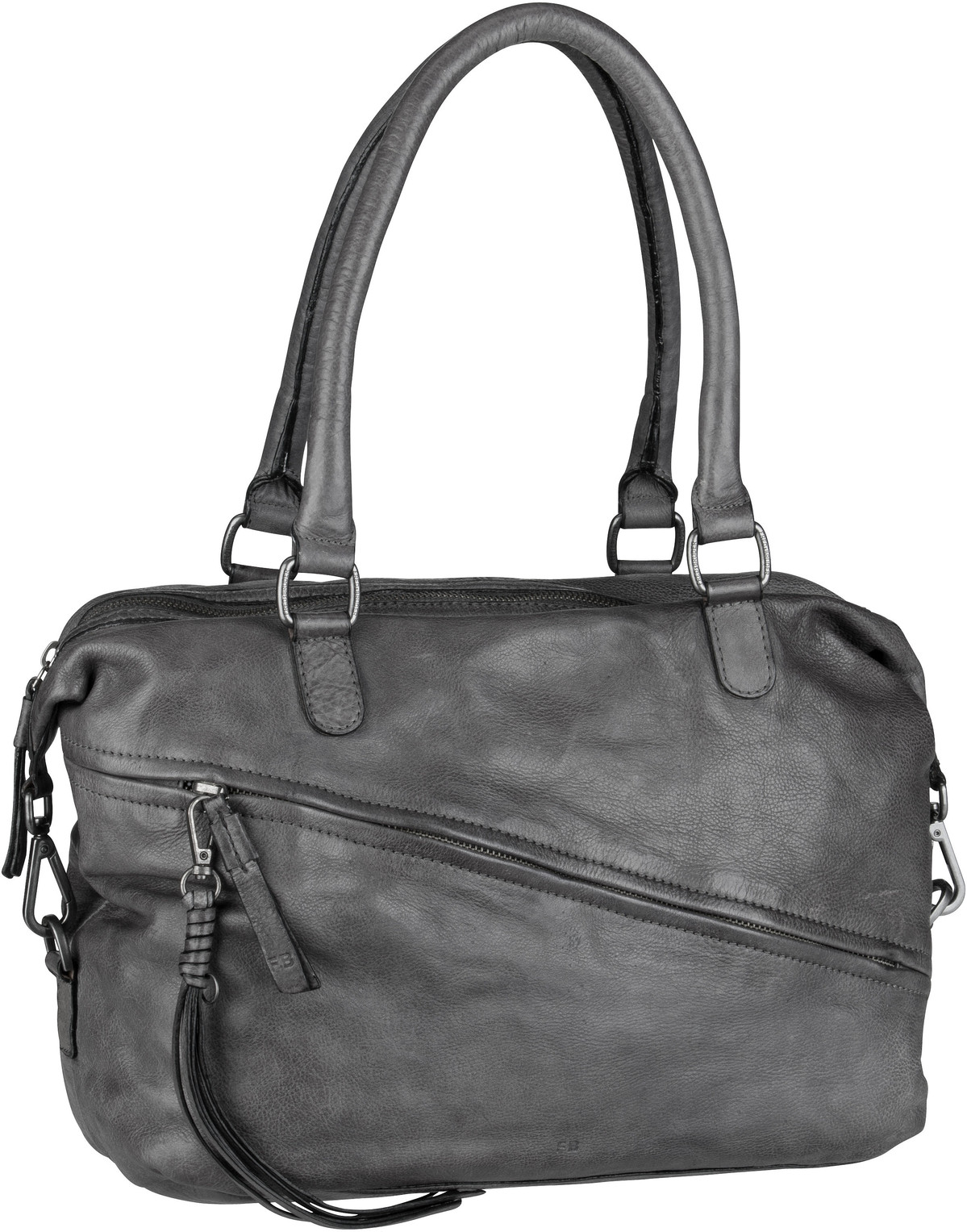 Handtasche Lucky Iron Grey