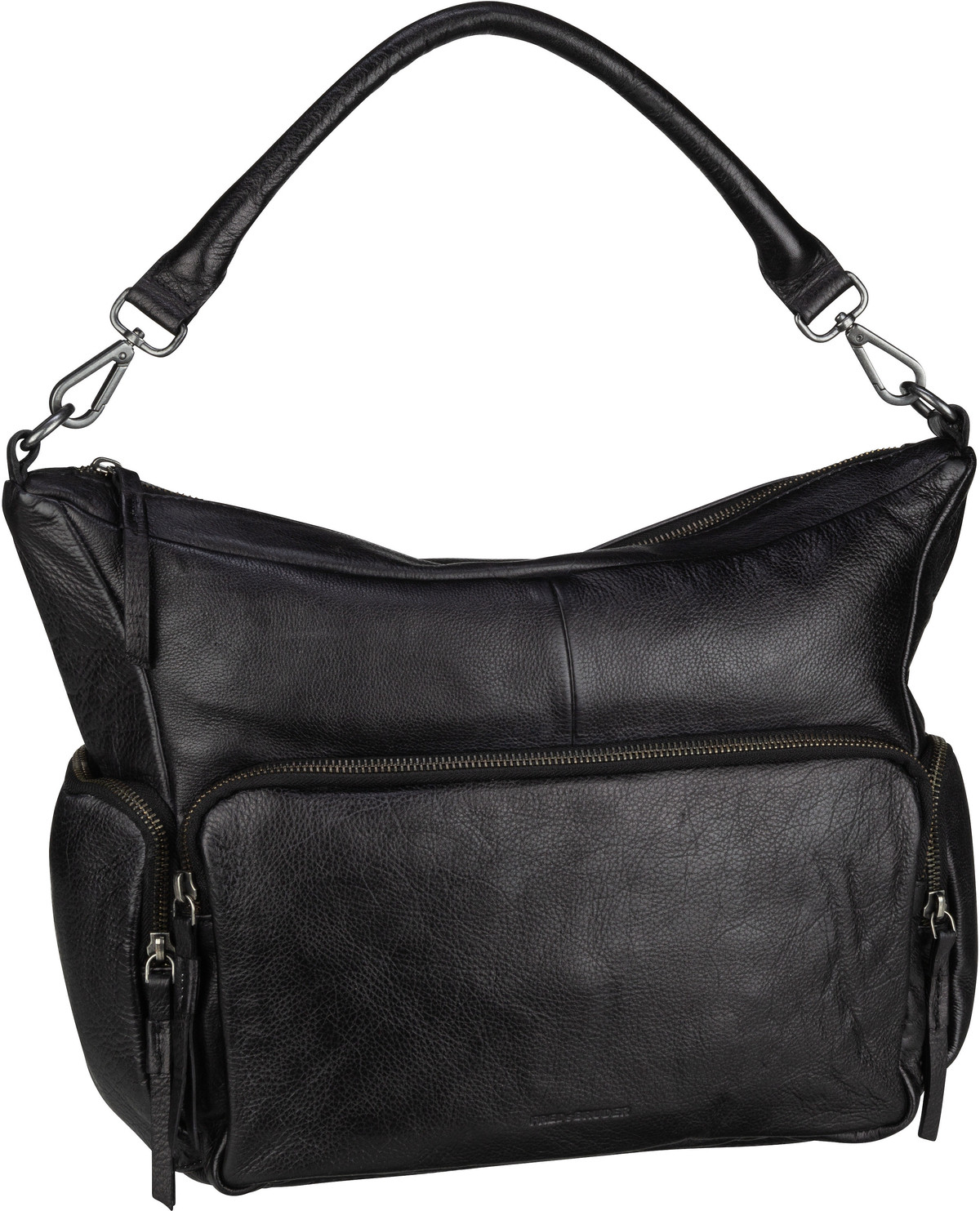 Handtasche Honeycomb Black