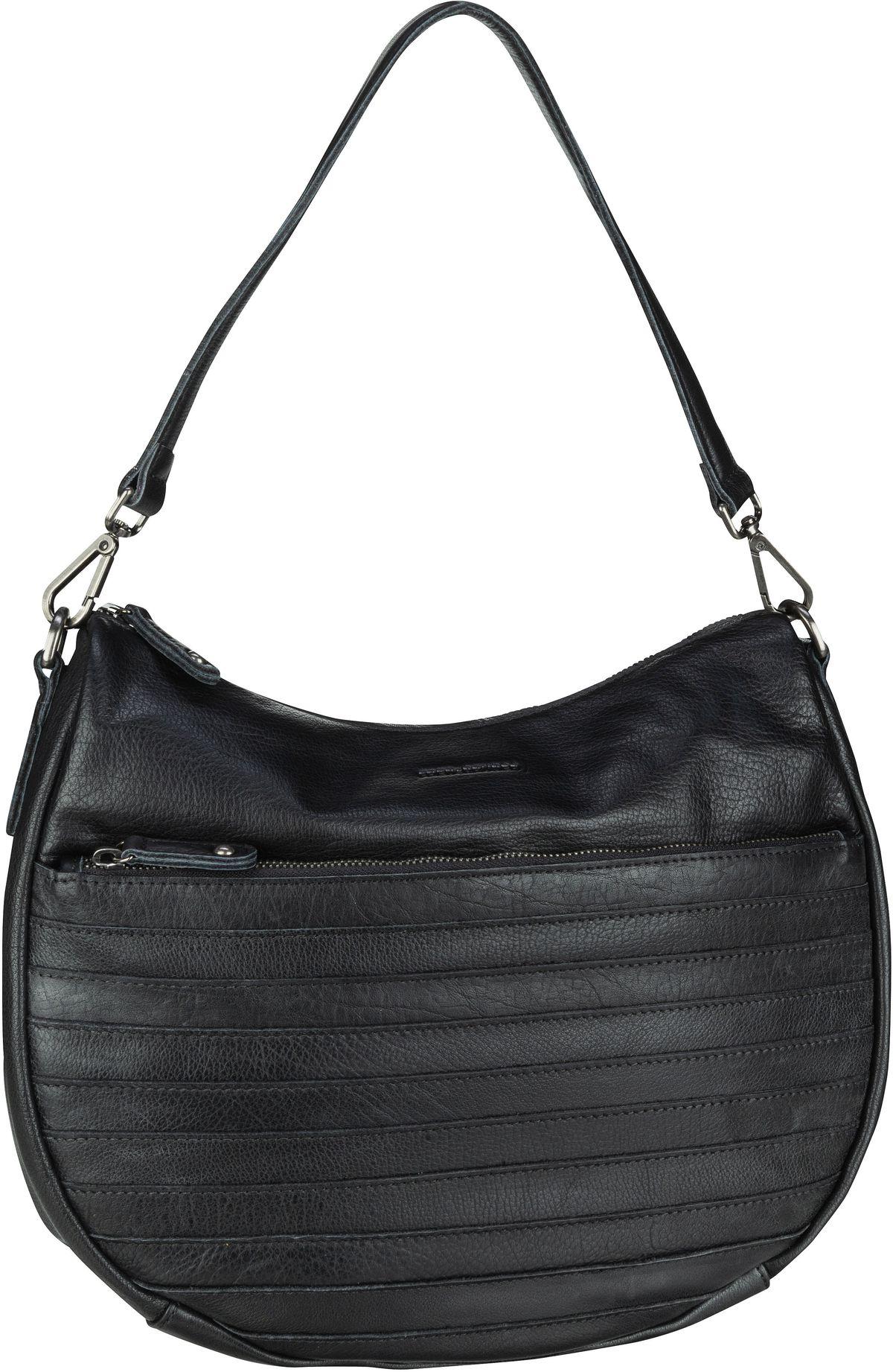 Handtasche Herzblatt Black