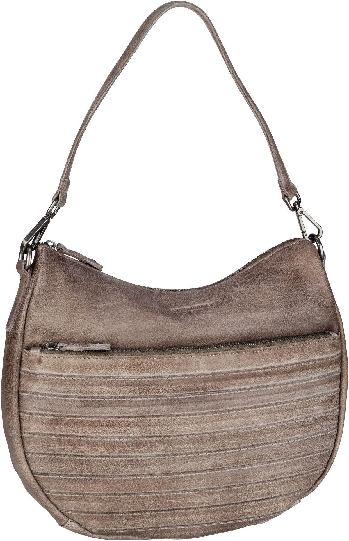 Handtasche Herzblatt Light Grey
