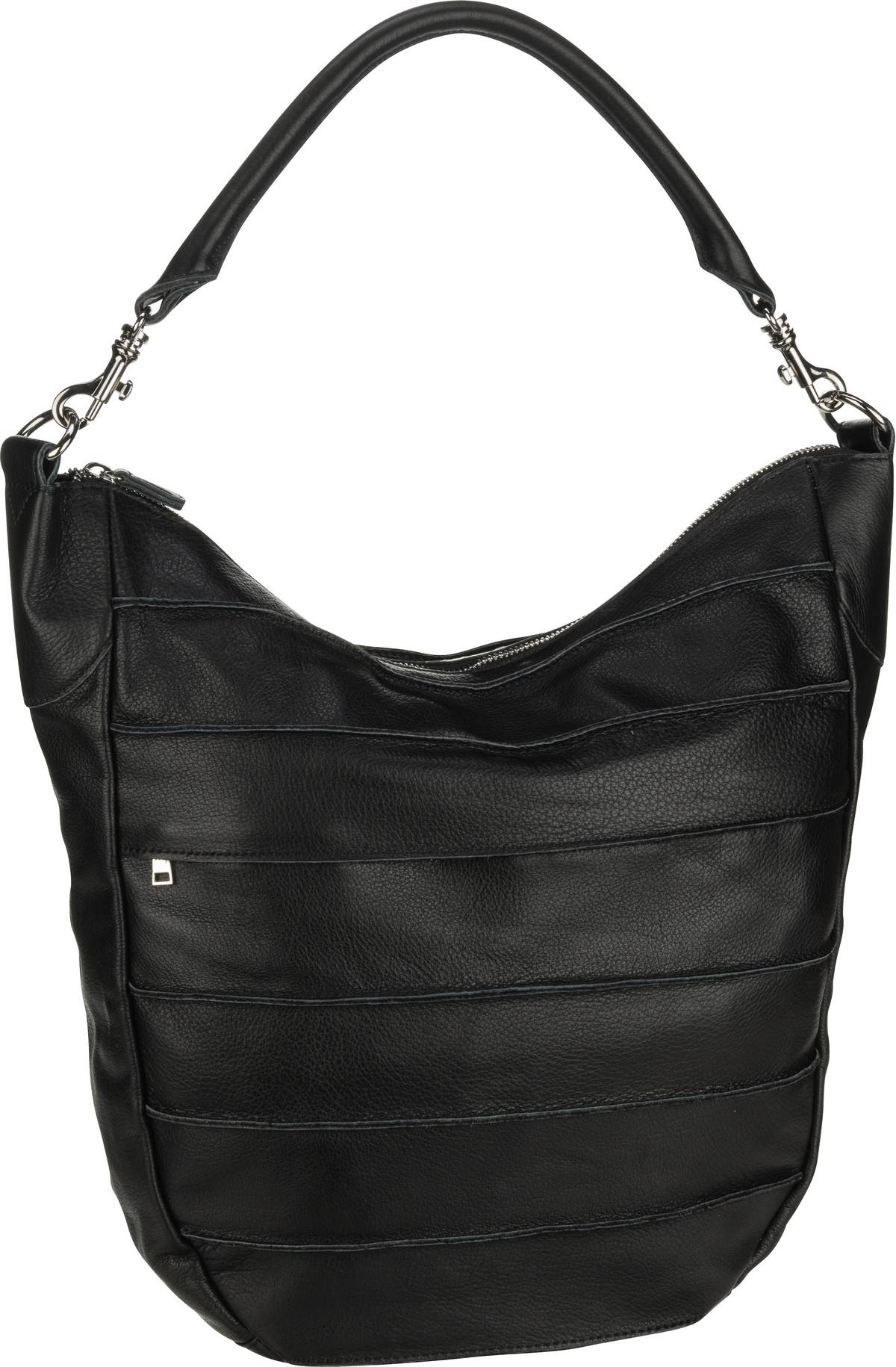 Handtasche Bold Big Riffel Black