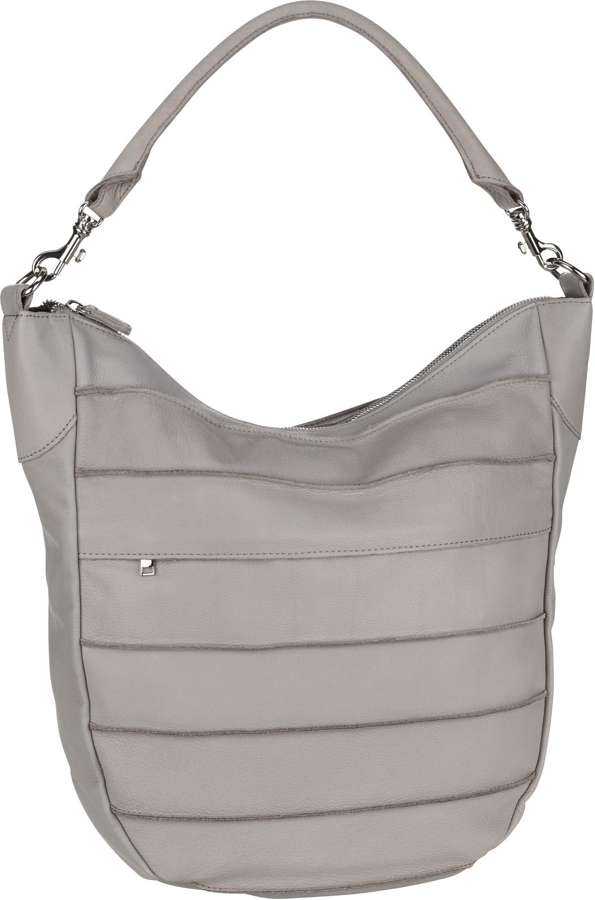 Handtasche Bold Big Riffel Light Grey