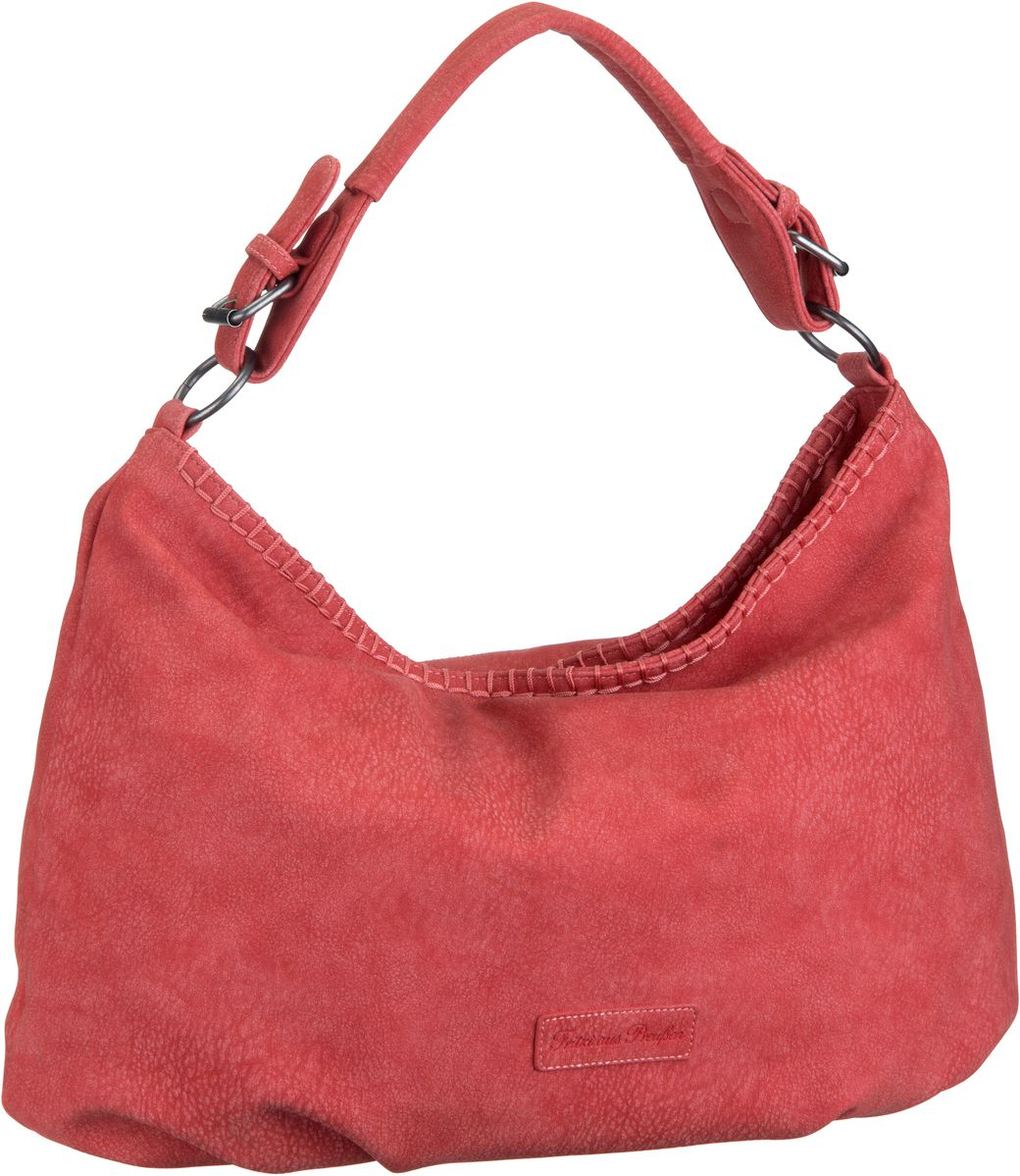 Handtasche Felipa Nubuk Red