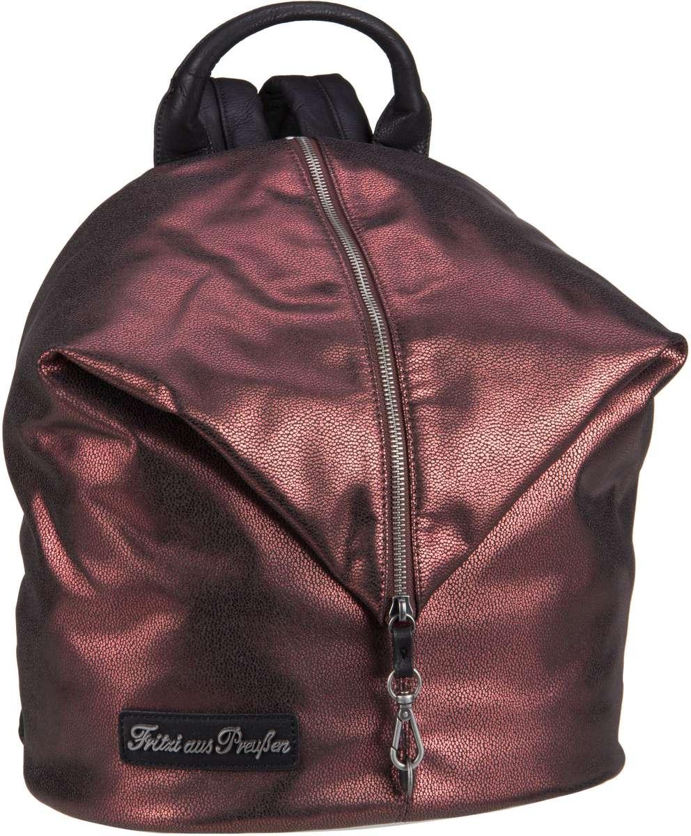 Rucksaecke für Frauen - Fritzi aus Preußen Rucksack Daypack Marit Ray Saddle Copper  - Onlineshop Taschenkaufhaus