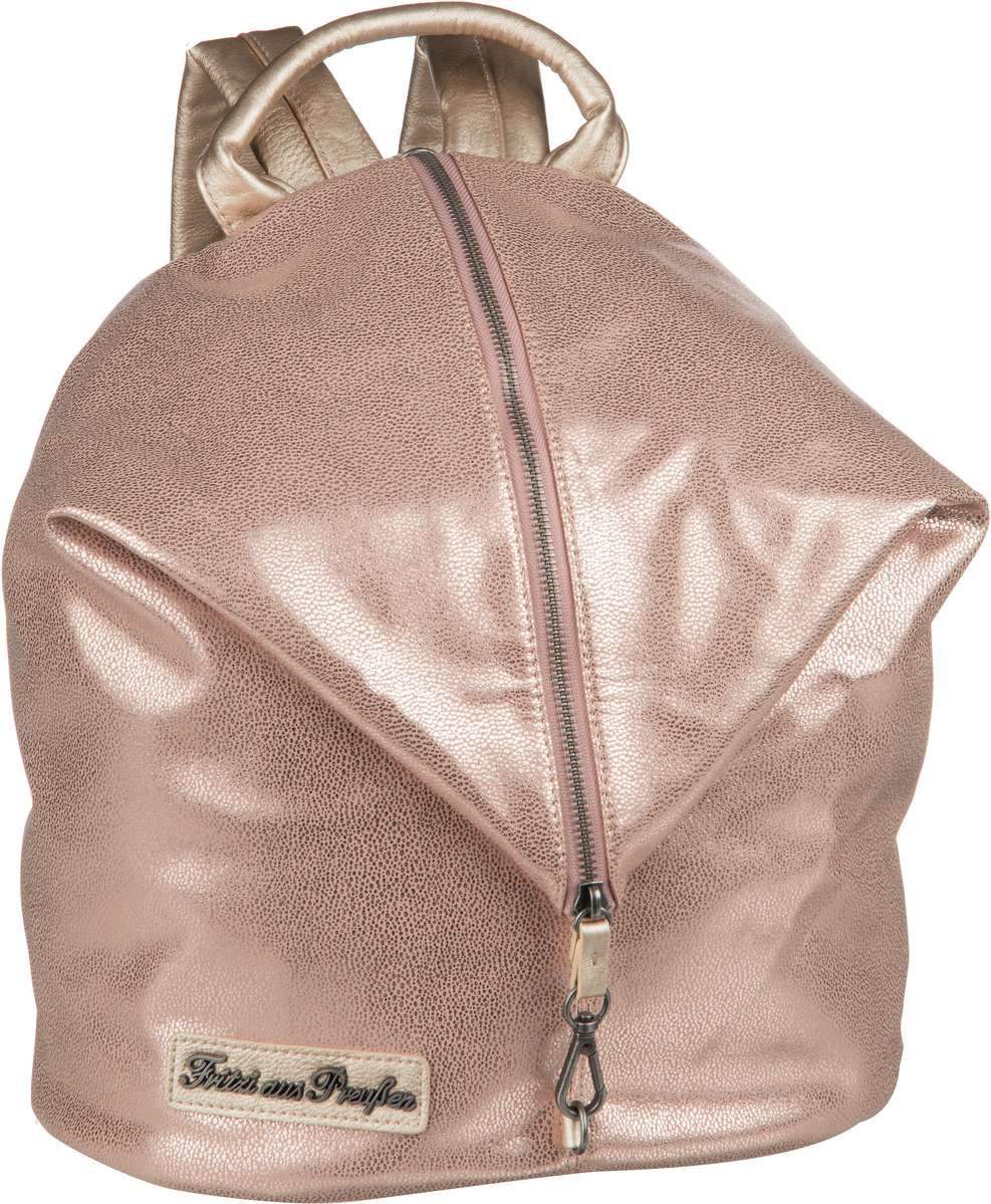 Rucksaecke für Frauen - Fritzi aus Preußen Rucksack Daypack Marit Ray Saddle Gold  - Onlineshop Taschenkaufhaus