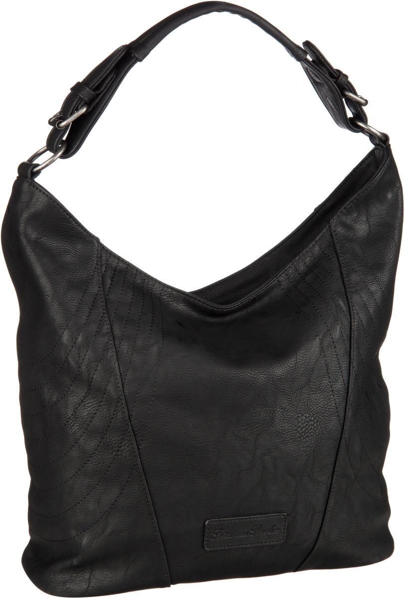 Handtaschen für Frauen - Fritzi aus Preußen Handtasche Pelin Saddle Black  - Onlineshop Taschenkaufhaus