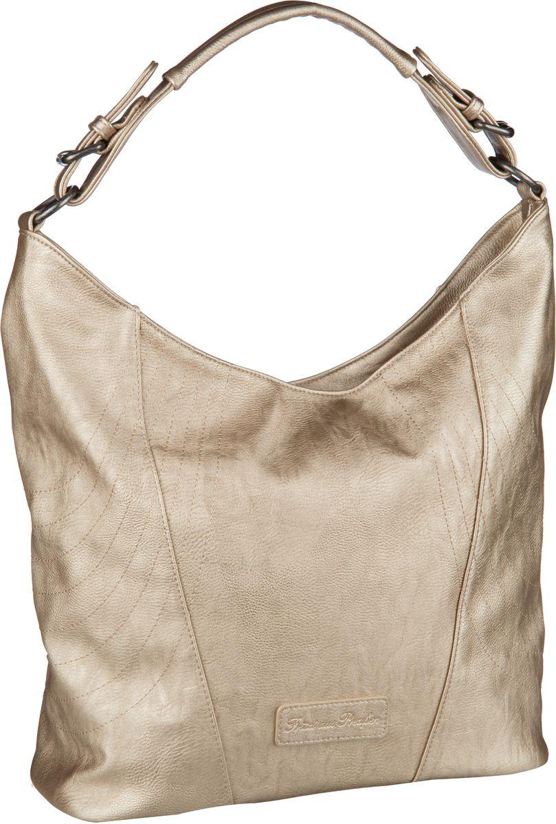 Handtaschen für Frauen - Fritzi aus Preußen Handtasche Pelin Saddle Gold  - Onlineshop Taschenkaufhaus