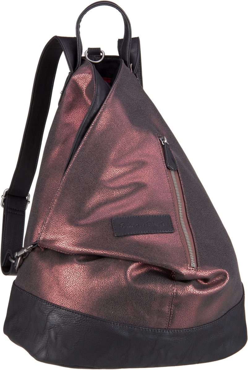 Rucksaecke für Frauen - Fritzi aus Preußen Rucksack Daypack Tomke Ray Copper  - Onlineshop Taschenkaufhaus