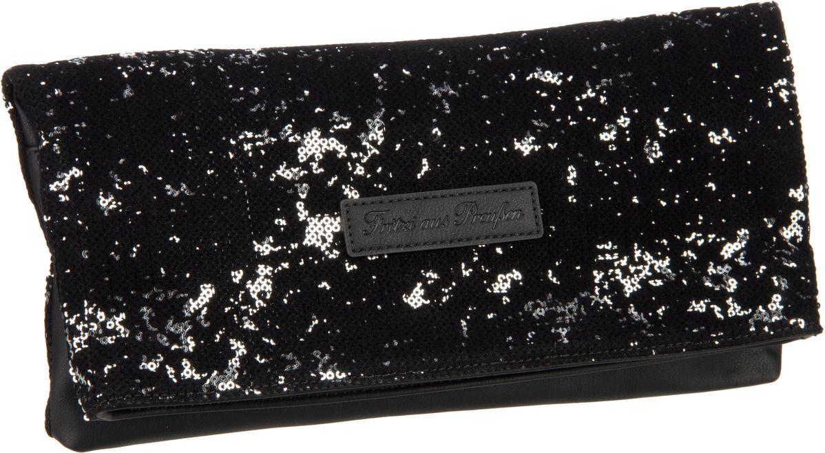 Clutches für Frauen - Fritzi aus Preußen Clutch Ronja Special Silver  - Onlineshop Taschenkaufhaus