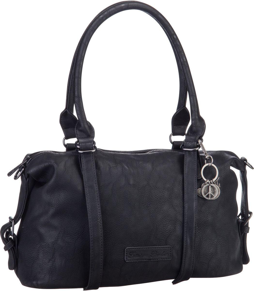Handtasche Linda Saddle Black