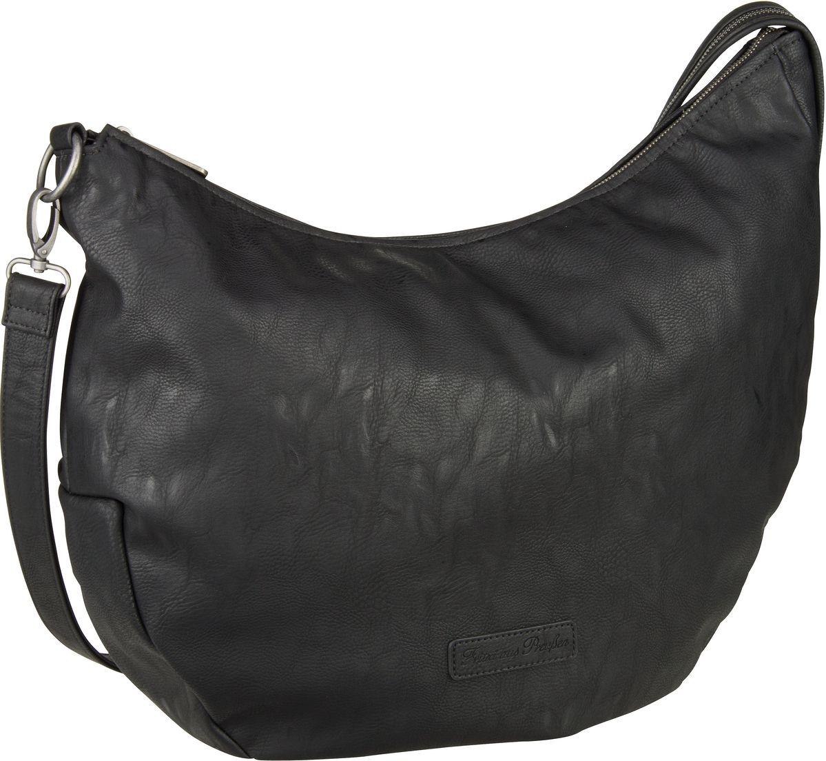 Handtasche Fine Saddle Black