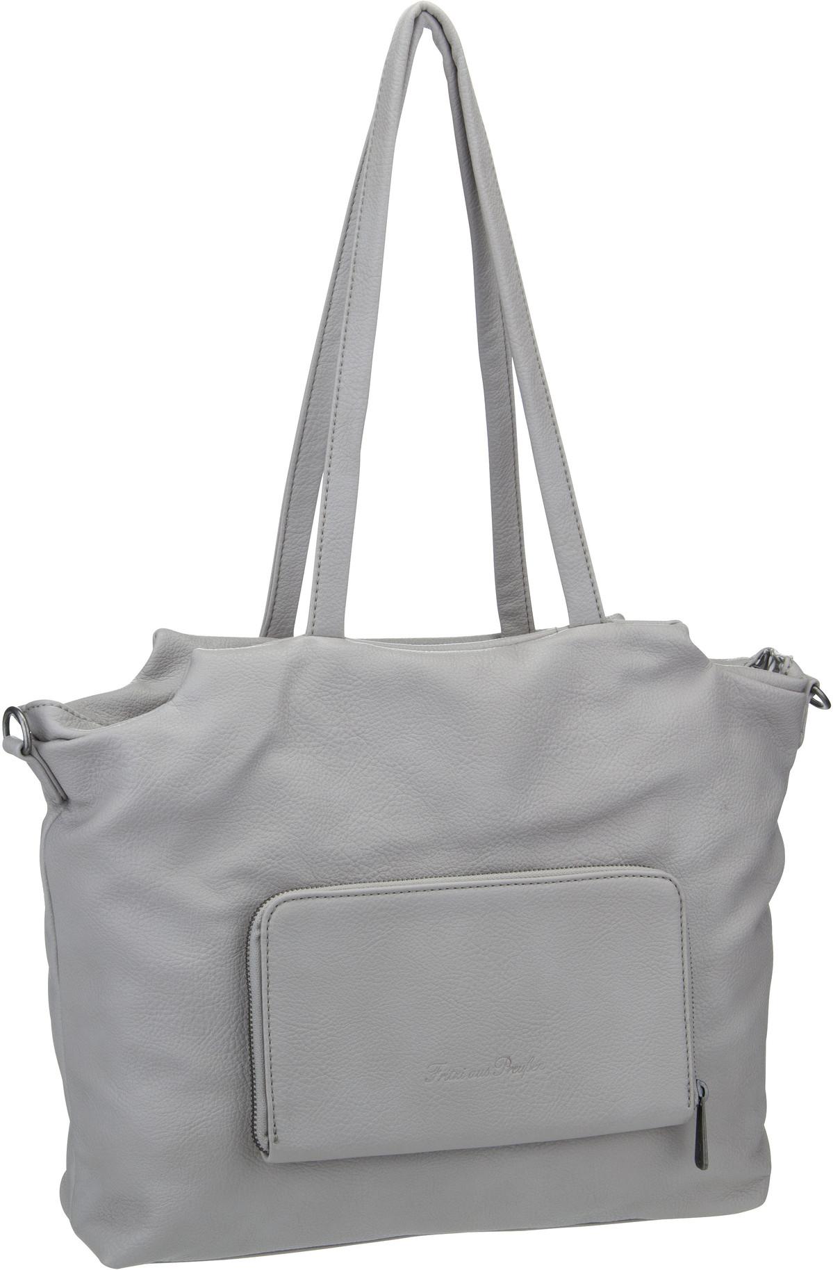 Handtasche Dala Super Grain Light Grey