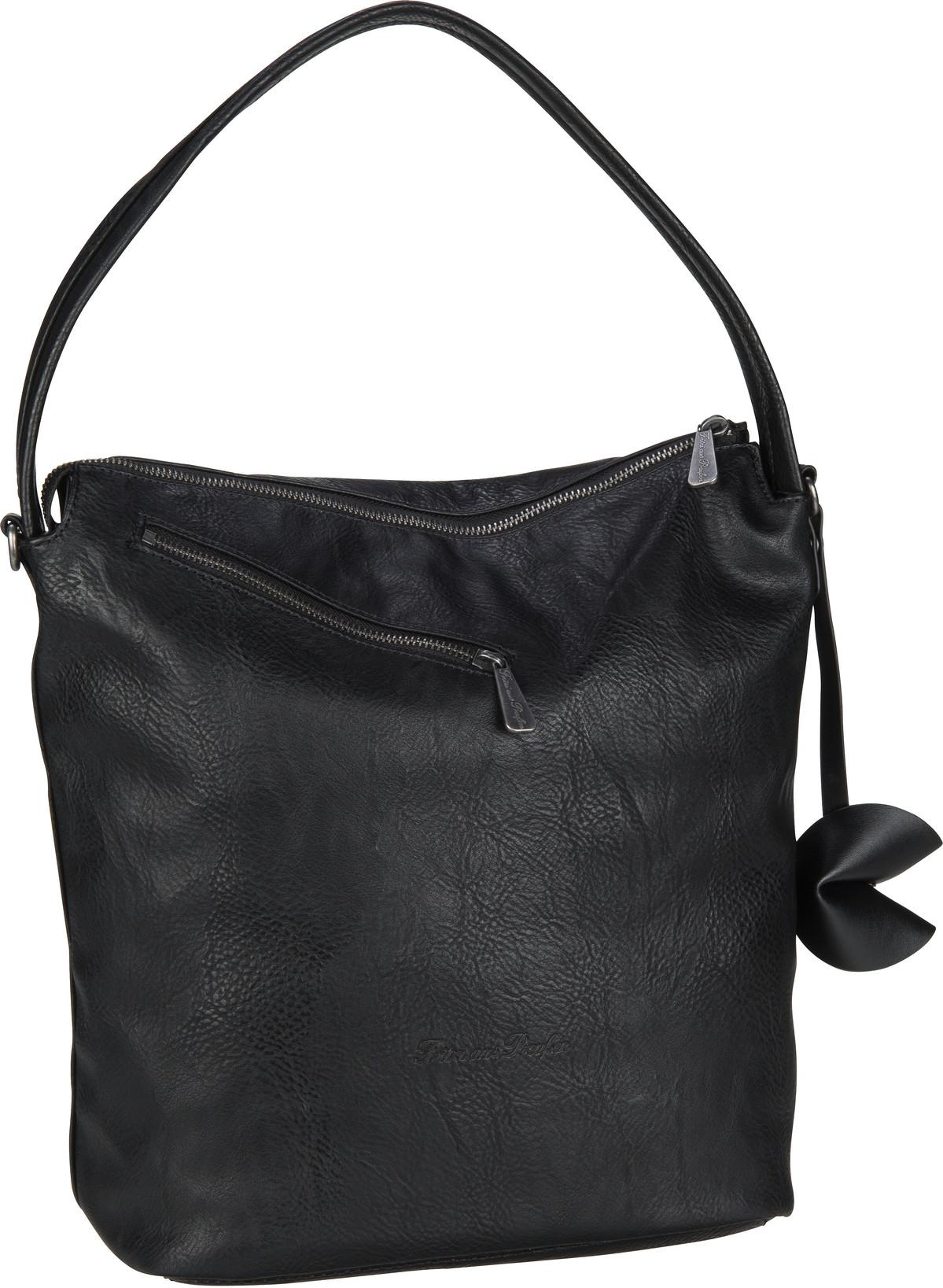 Handtasche Arin Saddle Black