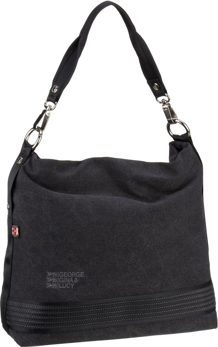 George Gina & Lucy Handtasche Speaches Dark Grey