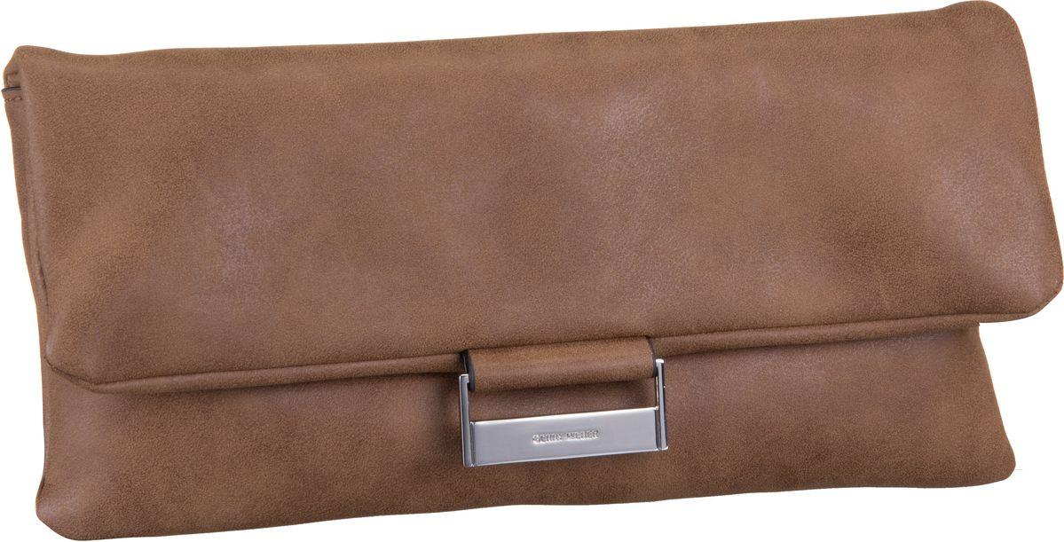 Handtasche Be Different Clutch Cognac