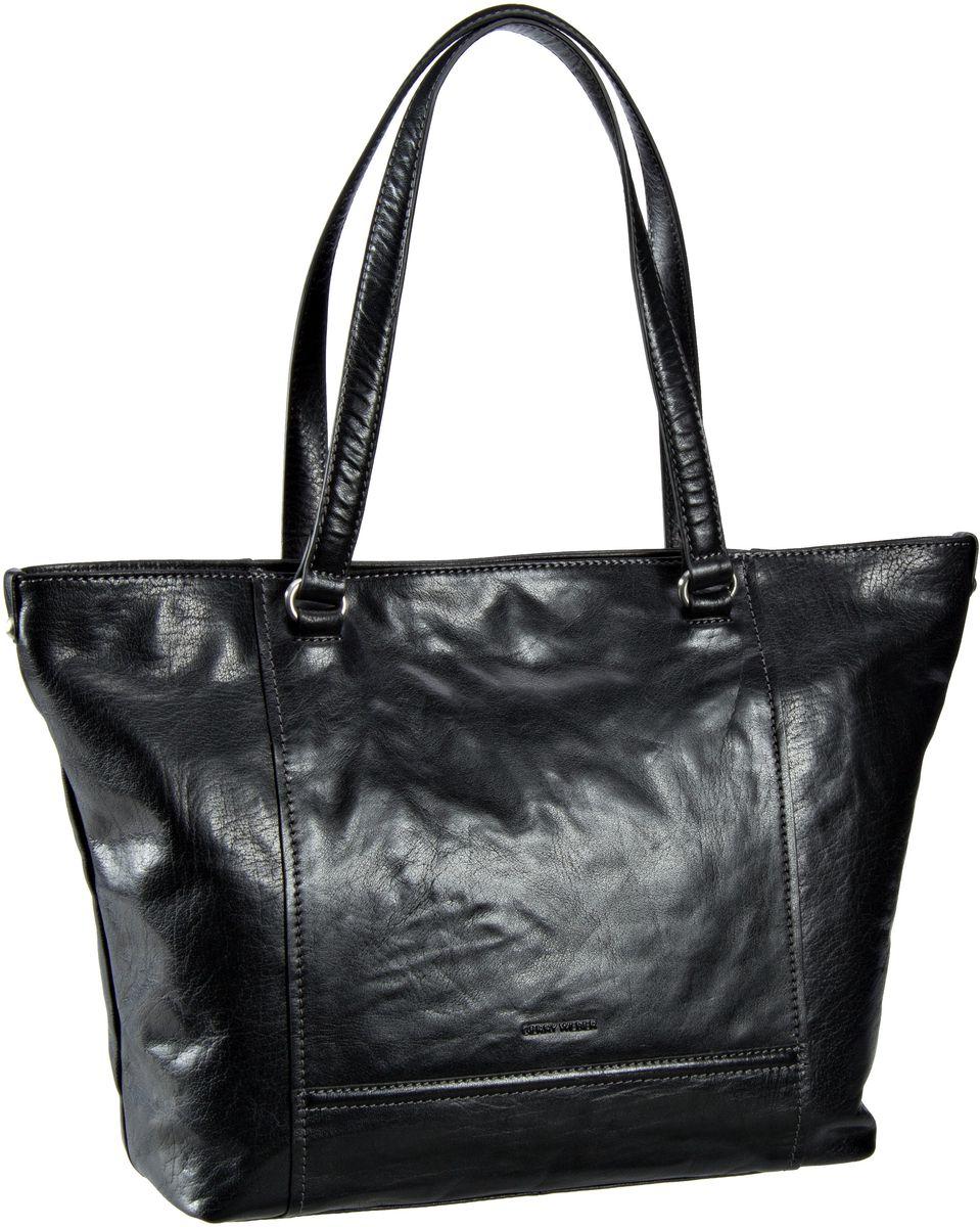 Handtasche Lugano Shopper Black
