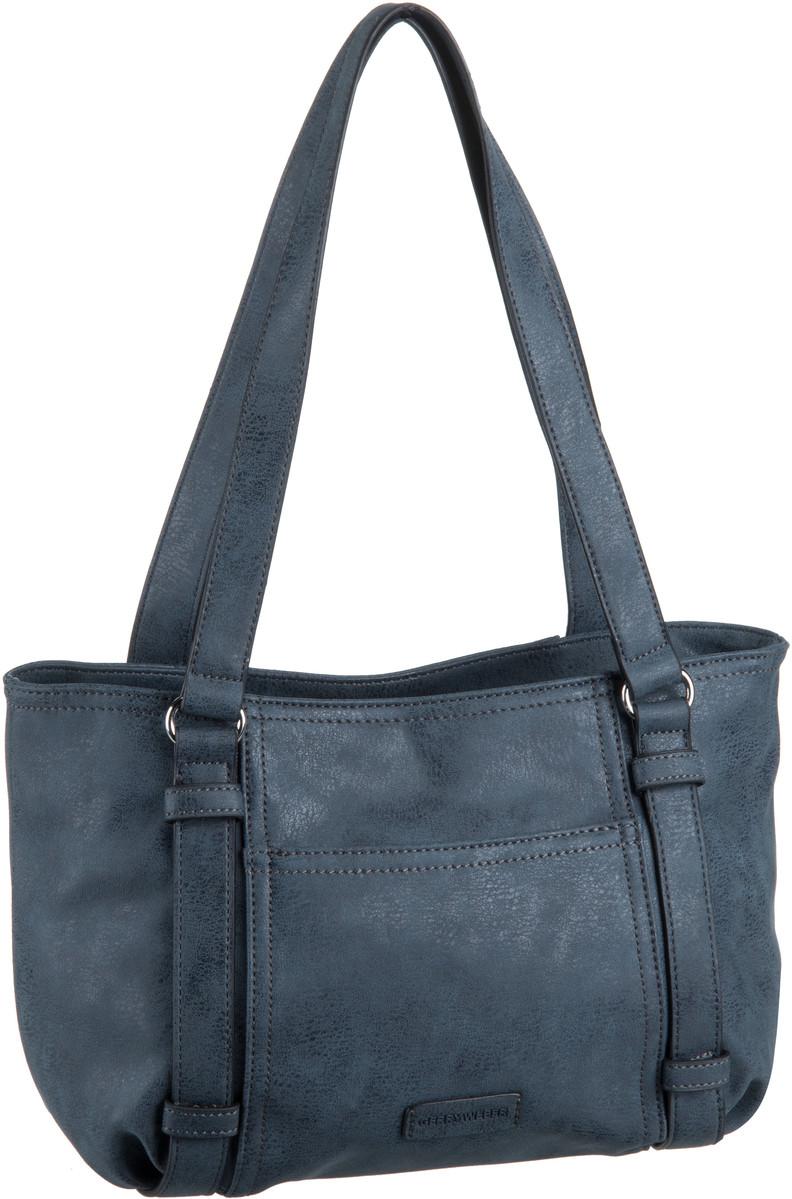 Handtaschen für Frauen - Gerry Weber Handtasche Open Mind Baguette Dark Blue  - Onlineshop Taschenkaufhaus