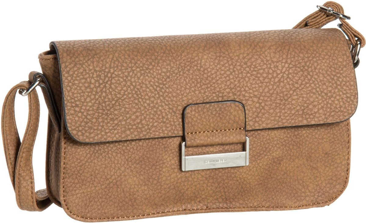 Umhängetasche Talk Different II Flap Bag H Small Cognac