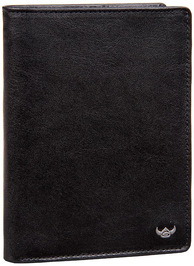 Colorado Herren Geldbörse Schwarz (innen: Grau mit Logo)