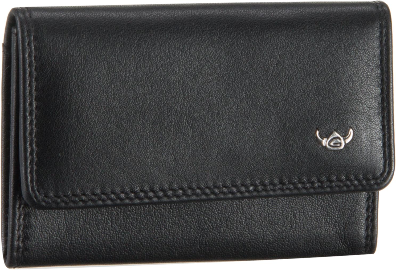 Geldboersen für Frauen - Golden Head Polo 1182 Münzbörse Schwarz Geldbörse  - Onlineshop Taschenkaufhaus