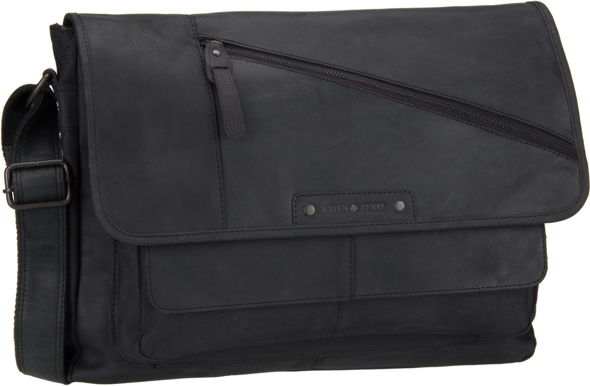 Umhängetasche Vintage Revival Vol. 2 Messenger Black
