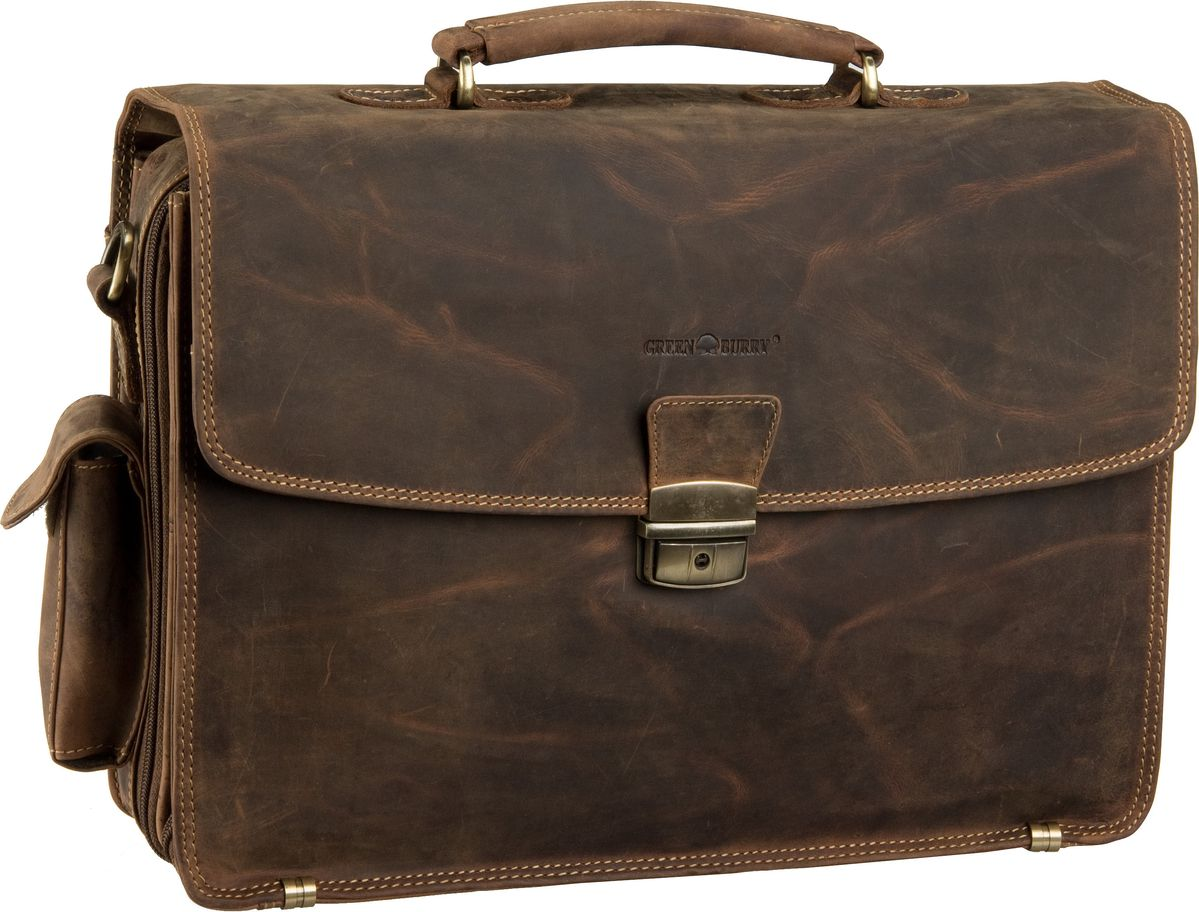 Greenburry Aktentasche Vintage Laptop Tasche Sa...