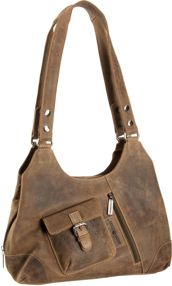 Handtasche Vintage Revival Vol. 1 Shopper Bag Sattelbraun
