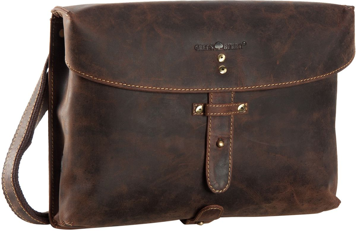 Vintage Military Bag Sattelbraun