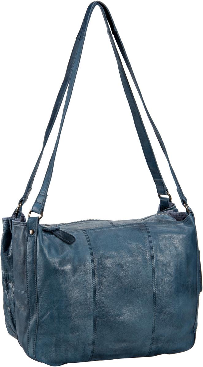 Greenburry Stainwashed Beutel-Shopper Blue - Handtasche Sale Angebote Guhrow