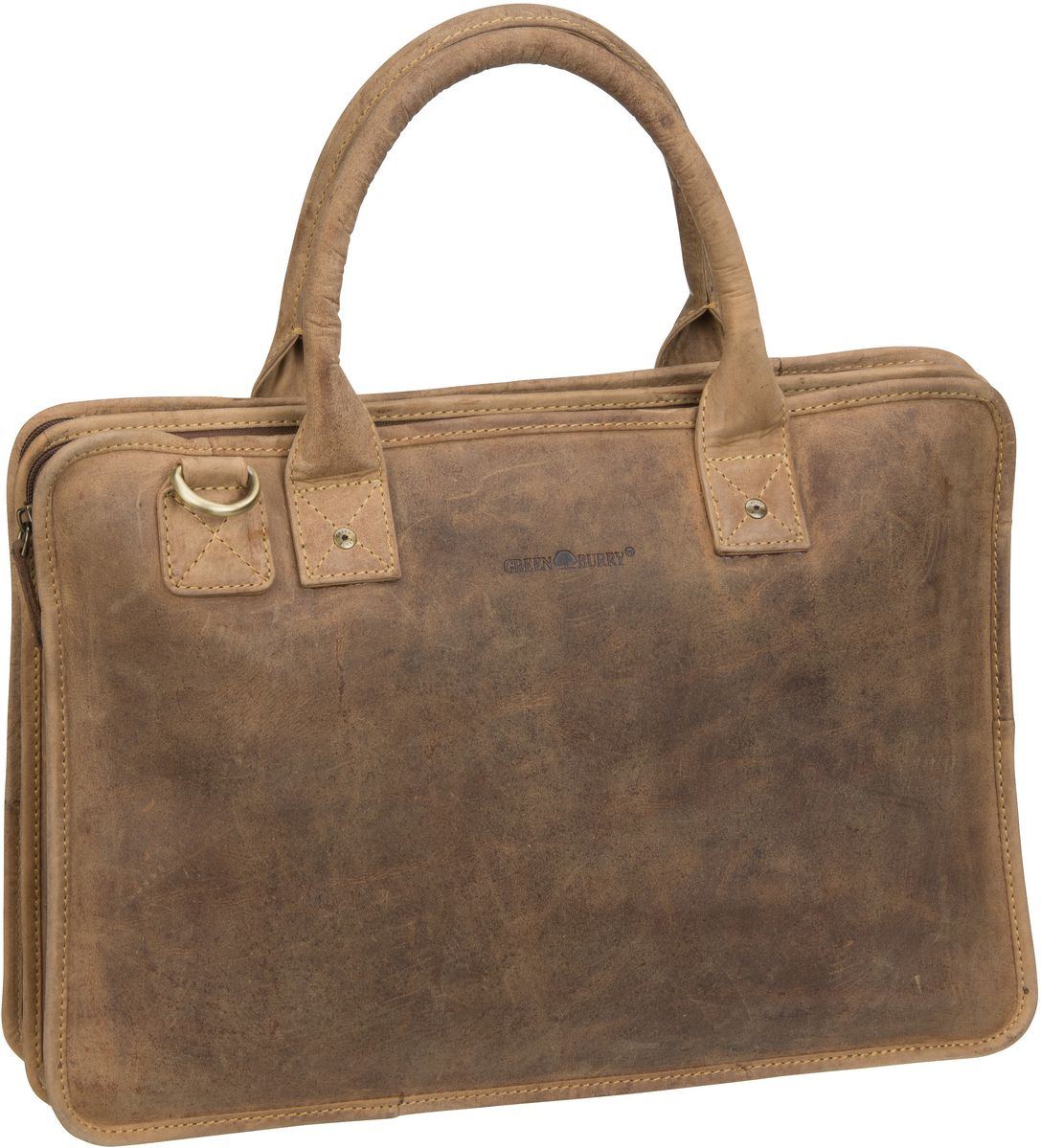 Greenburry Aktentasche Vintage 1645 Laptop Case...