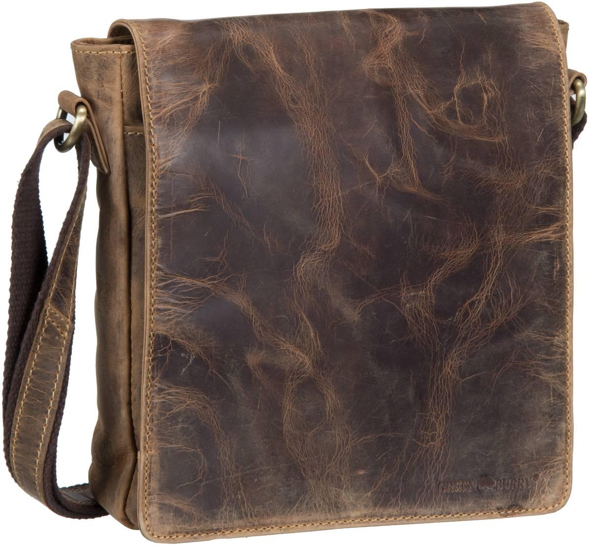 Umhängetasche Vintage 1636 Schultertasche Brown