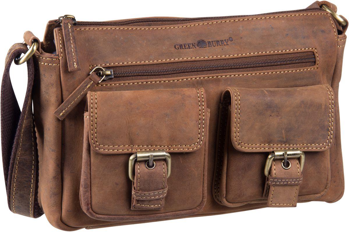Umhängetasche Vintage 1769 Pocketbag Sattelbraun