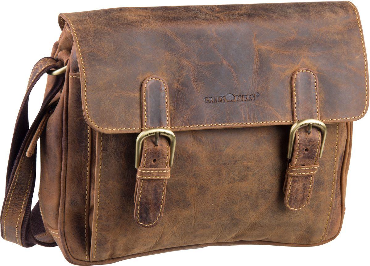 Umhängetasche Vintage 1740 Tasche Sattelbraun