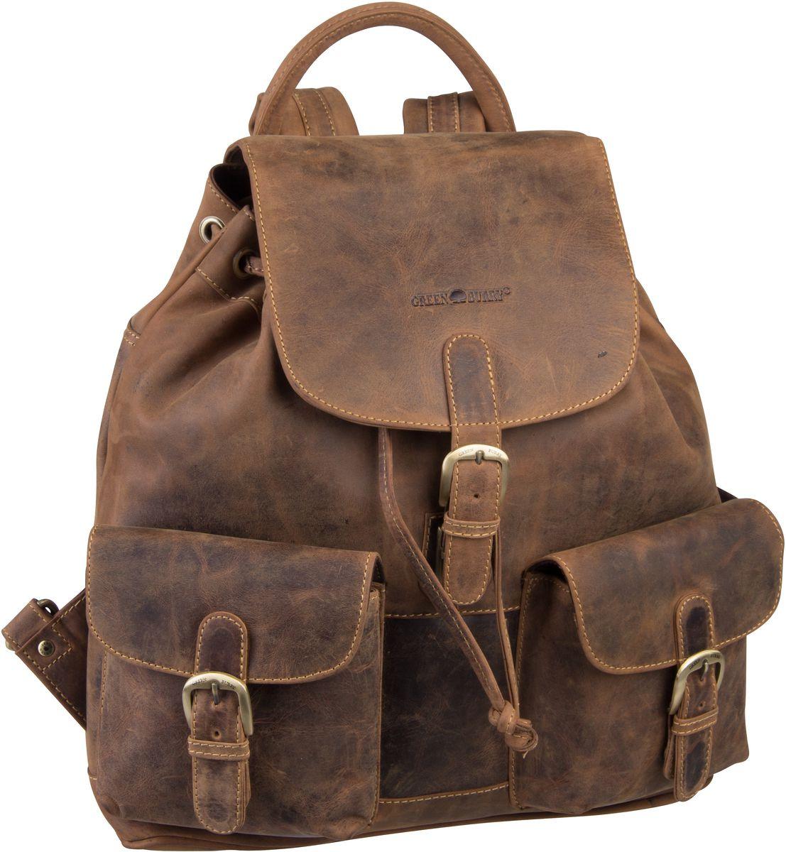 Rucksack / Daypack Vintage 1711 Rucksack Sattelbraun