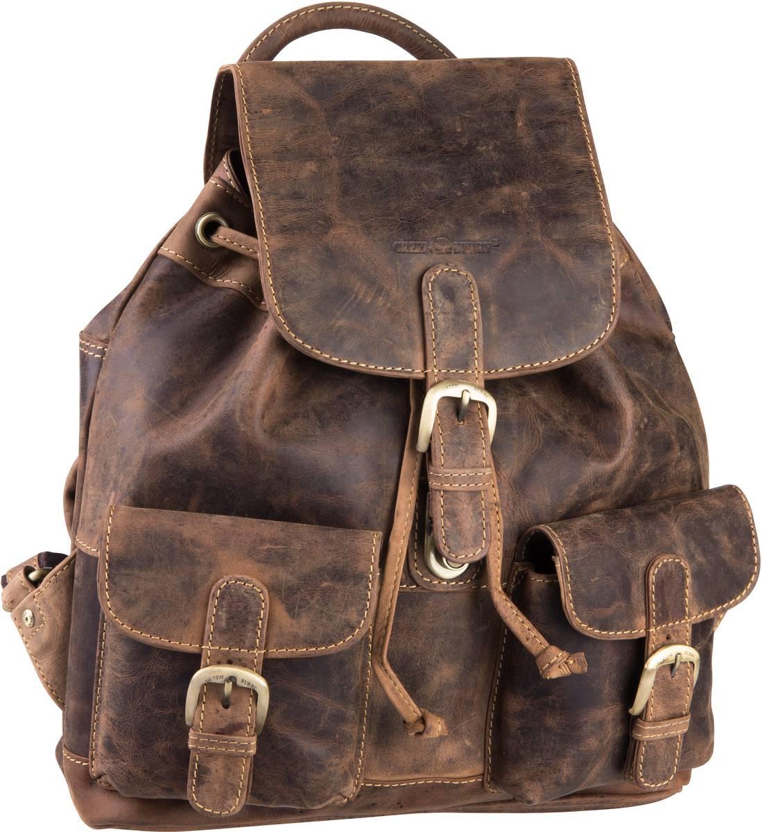 Rucksack / Daypack Vintage 1711M Rucksack medium Sattelbraun
