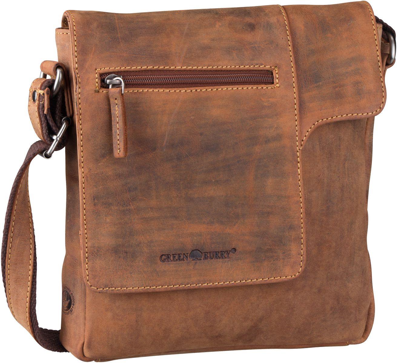 Umhängetasche Vintage 1650 Umhänger Brown
