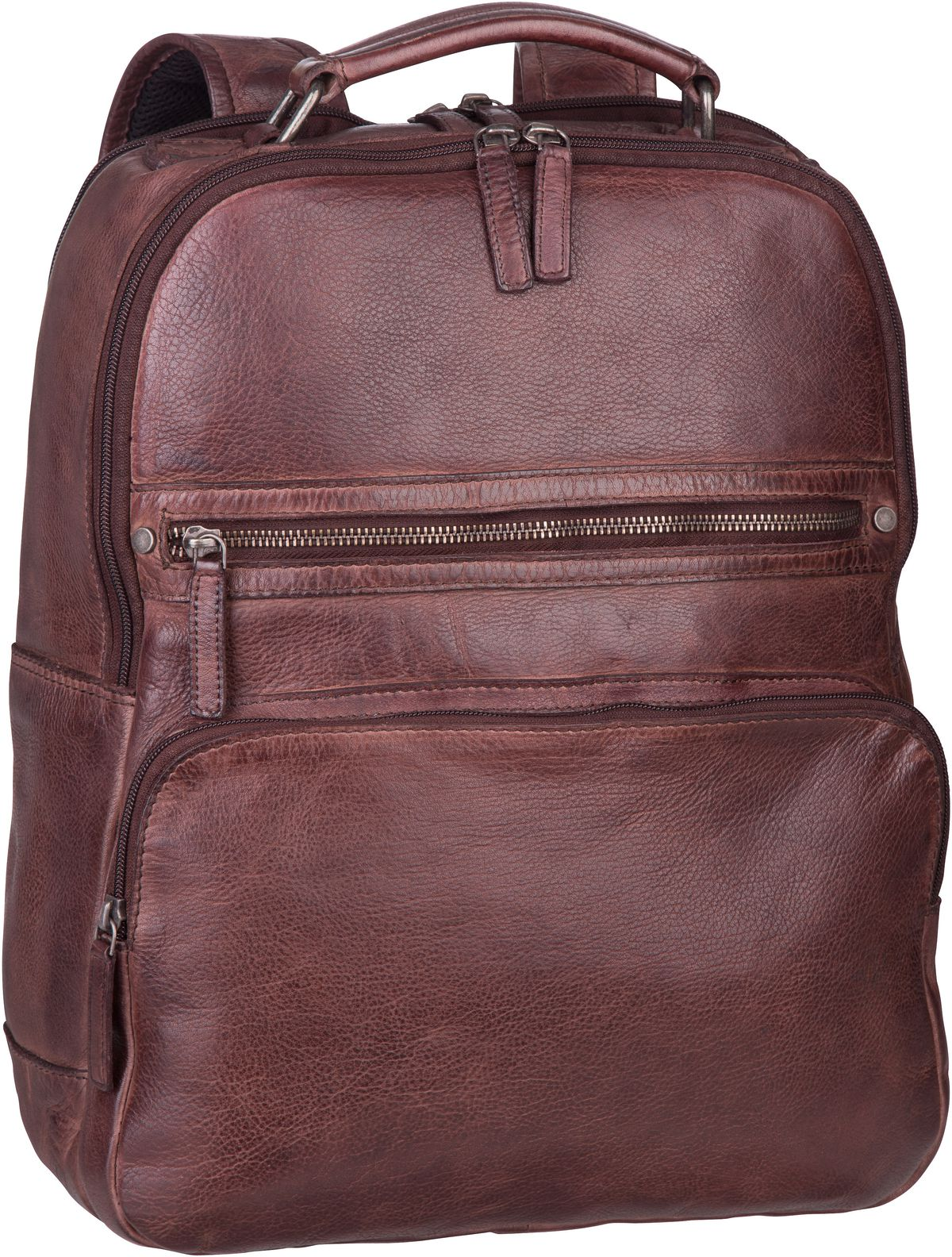 Rucksack / Daypack GBVT Washed 2909 Office Backpack Coffee