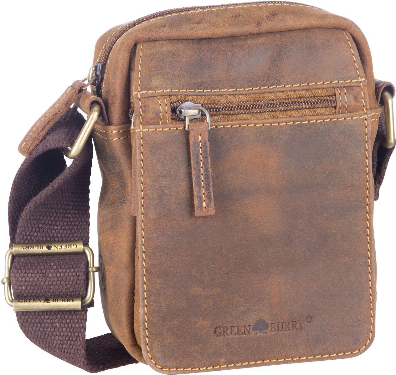 Umhängetasche Vintage 1610 Brown