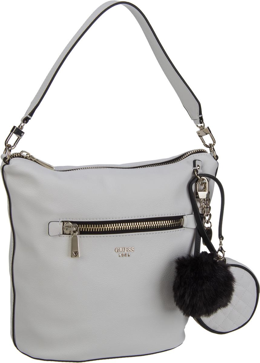 Guess Tenley Hobo White - Handtasche