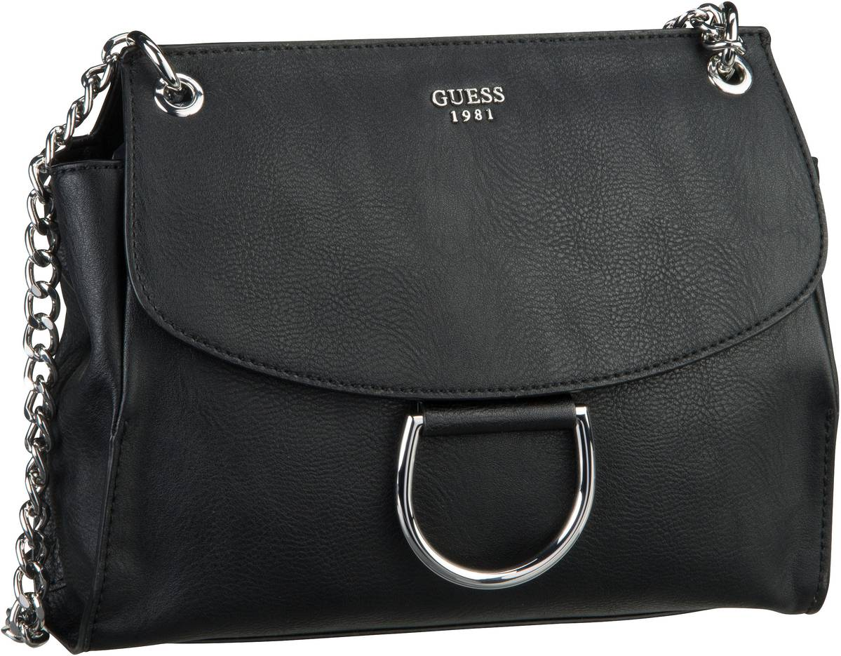 Fynn Crossbody Flap Black