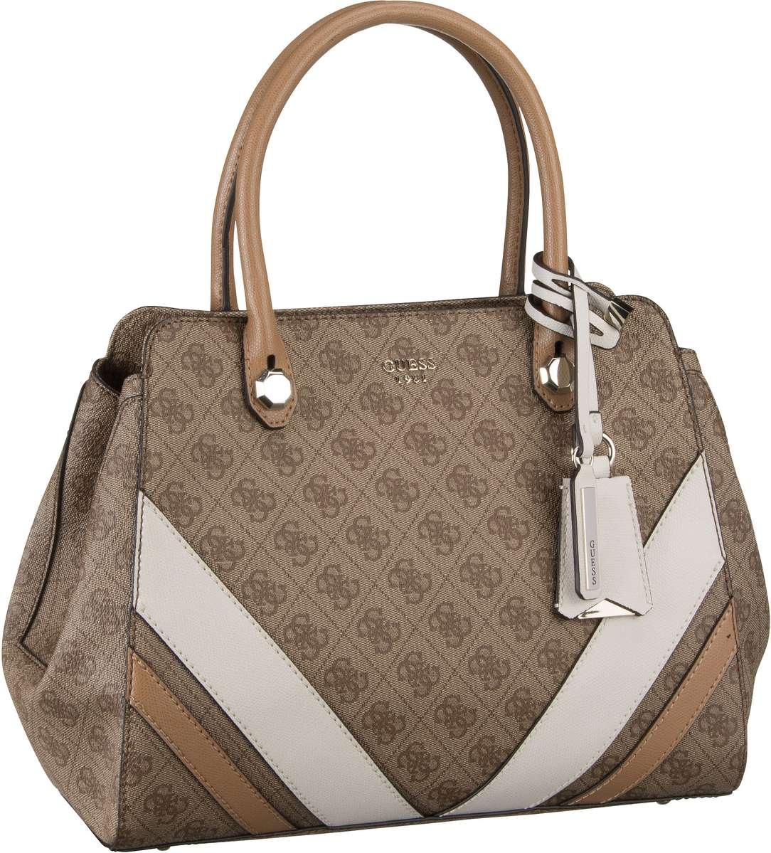 Guess Slater Girlfriend Satchel Brown - Handtasche