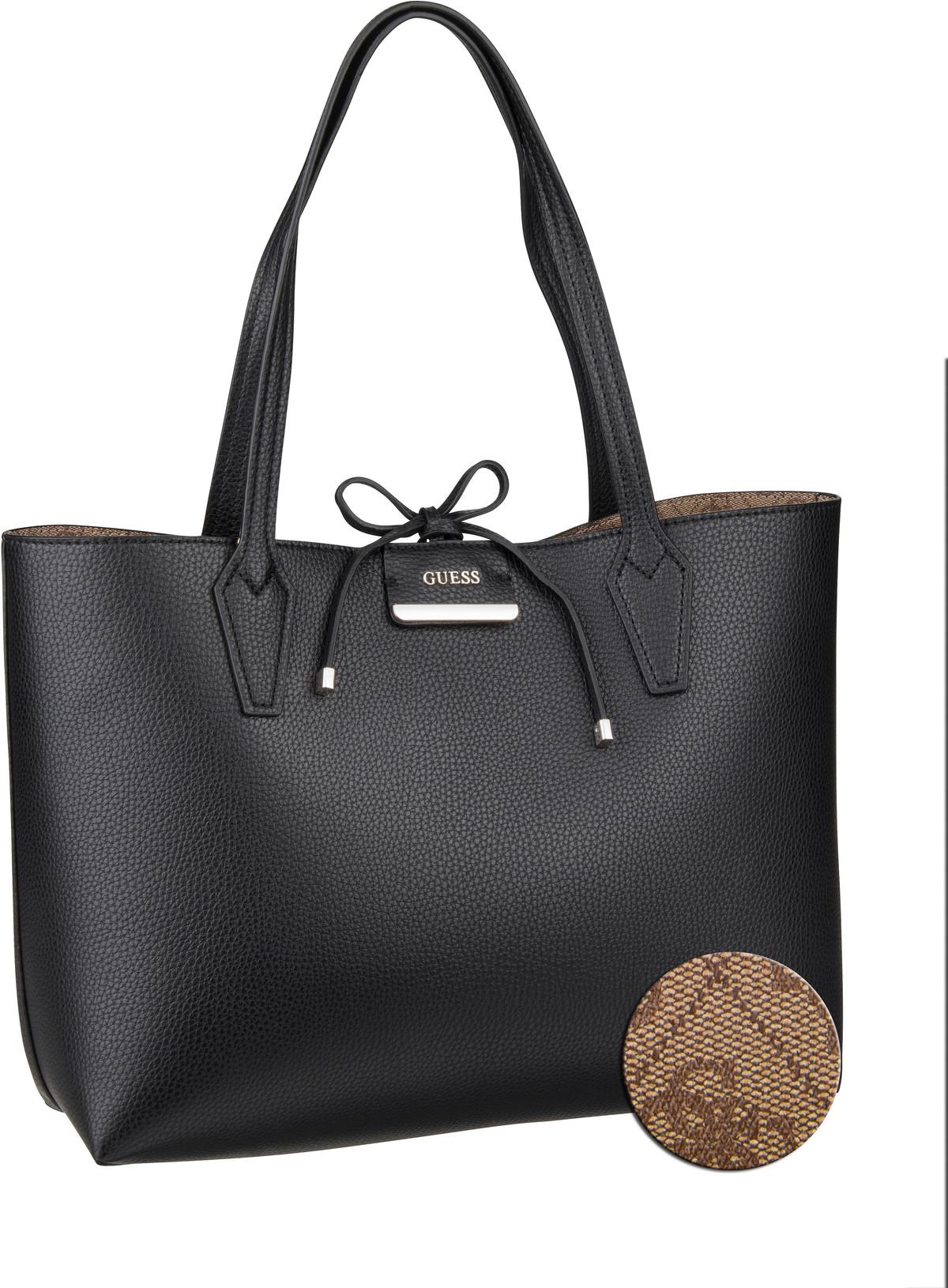 Handtasche Bobbi Inside Out Tote Black/Brown (innen: Braun)
