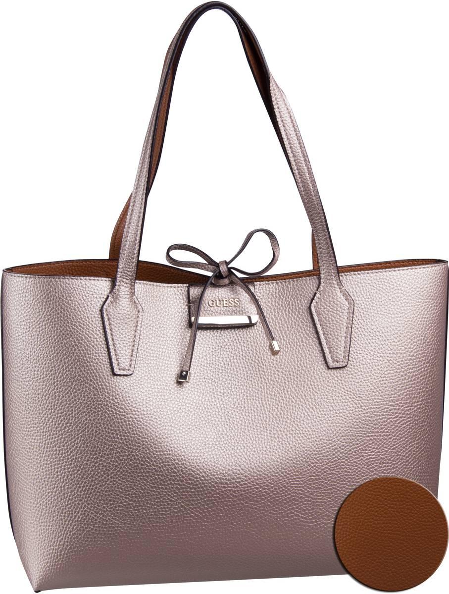 Handtasche Bobbi Inside Out Tote Pale Bronze/Cognac (innen: Cognac)