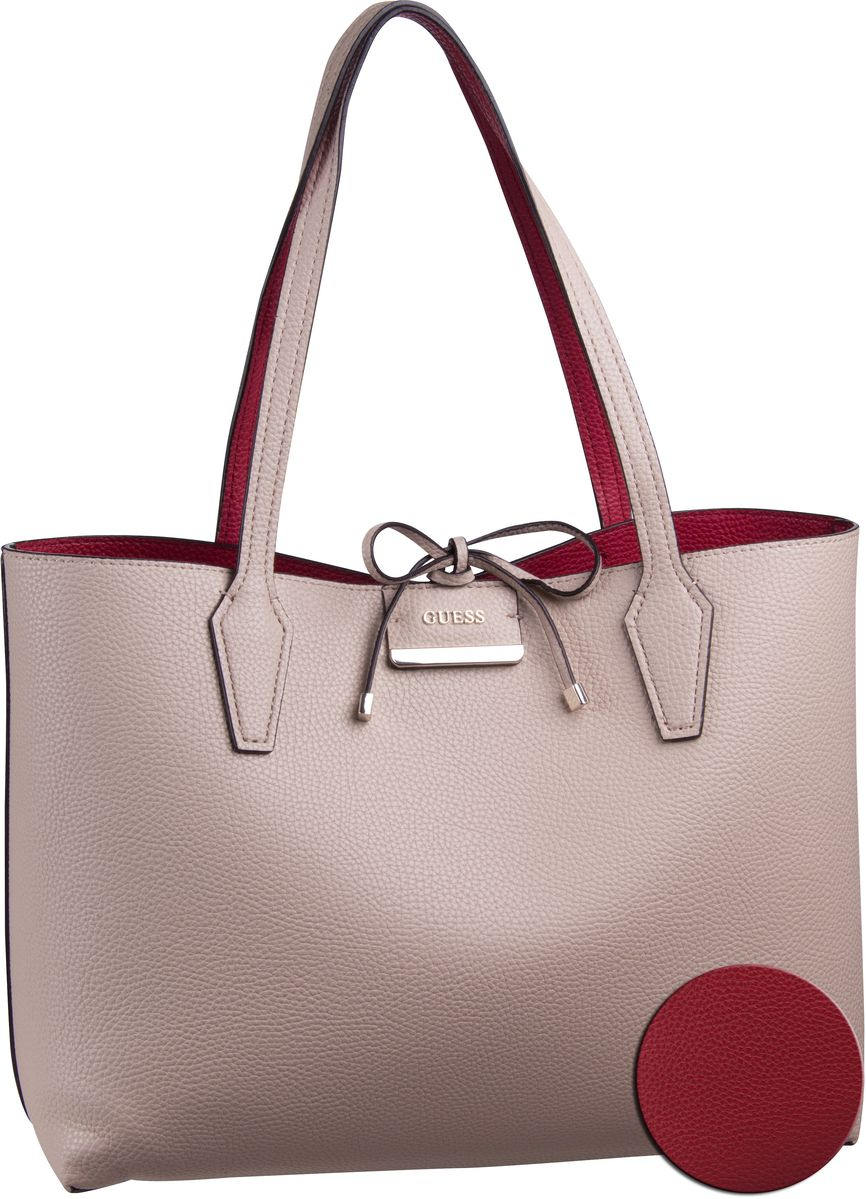 Handtasche Bobbi Inside Out Tote Tan/Red (innen: Rot)