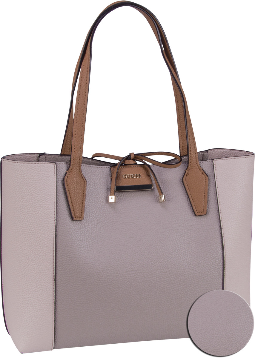 Handtasche Bobbi Inside Out Tote Taupe/Cameo (innen: Taupe, Hellblau)