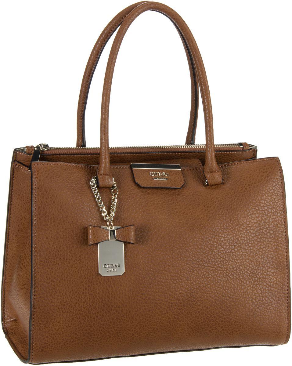 Guess Ryann Society Carryall Cognac - Handtasche