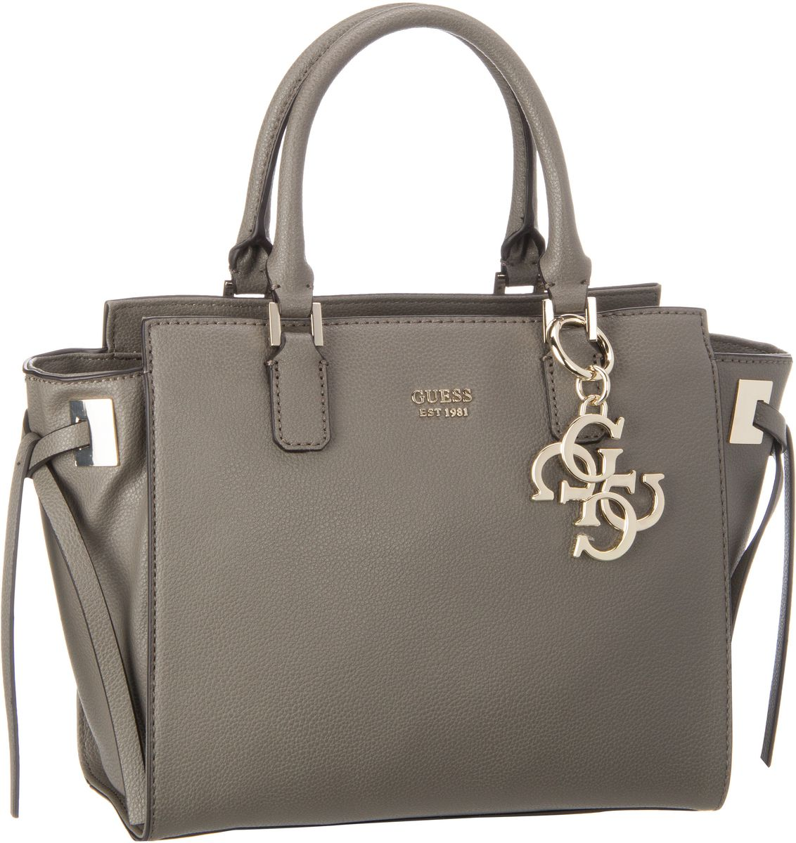 Guess Digital Status Satchel Fog - Handtasche
