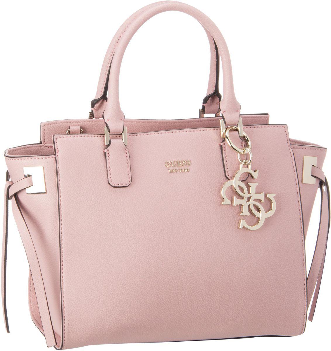Guess Digital Status Satchel Pink - Handtasche