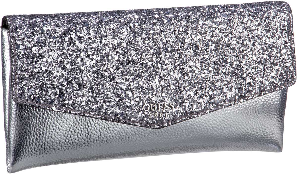 Guess Ever After Clutch Silver - Handtasche
