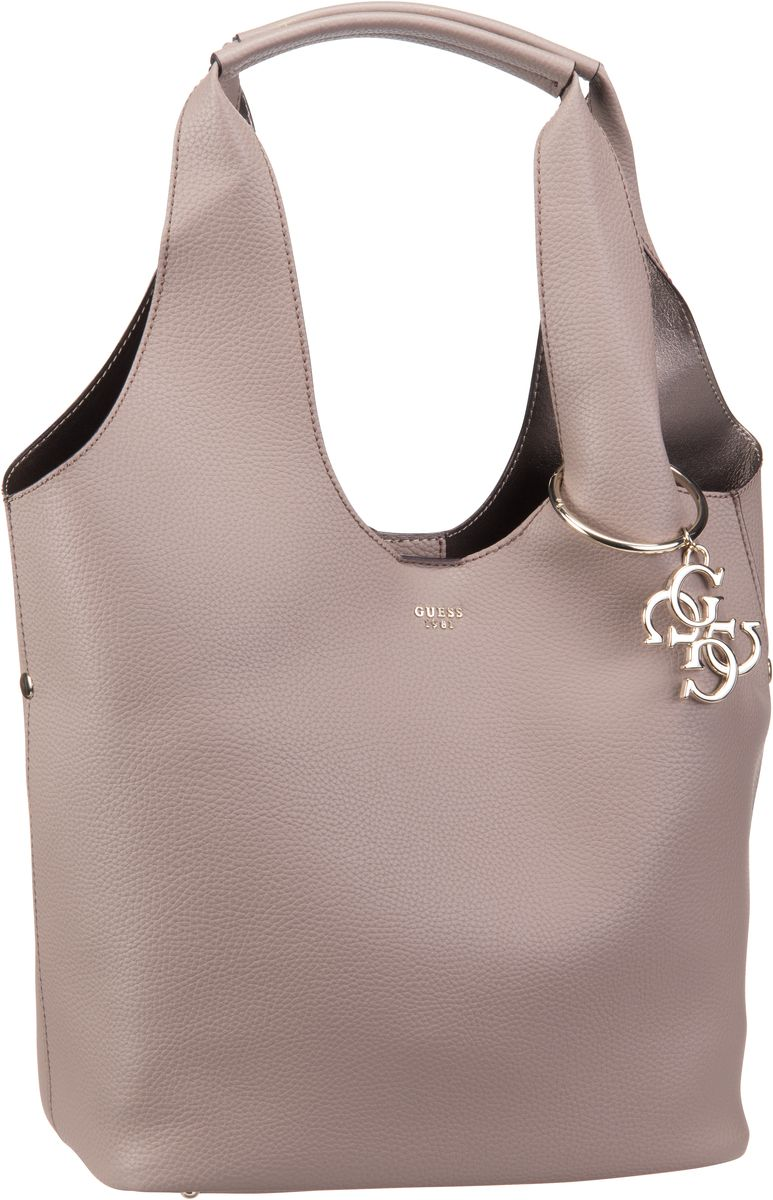 Beuteltasche Flora Large Hobo Taupe